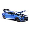 Modellauto Ford Mustang Shelby GT500 2020 blau metallic 1:18
