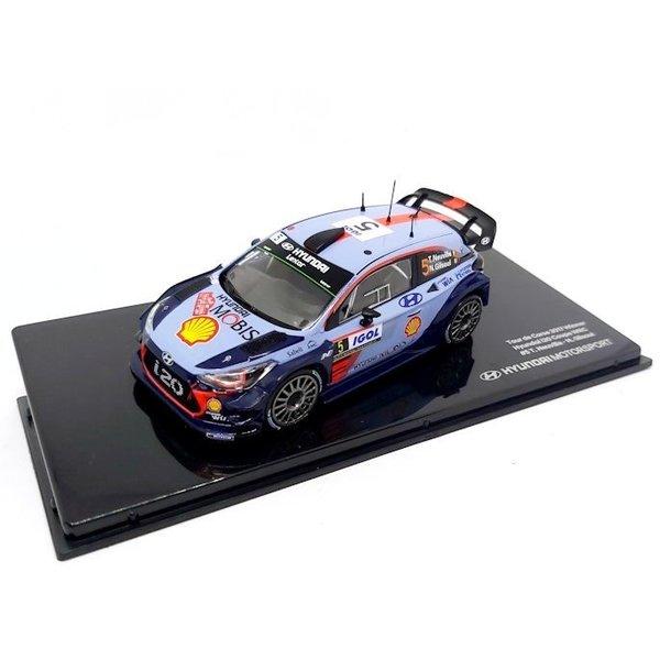 Modelauto Hyundai i20 Coupe WRC No. 5 2017 1:43