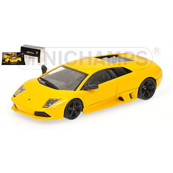 Model car Lamborghini Murcielago LP 640 2006 yellow 1:43