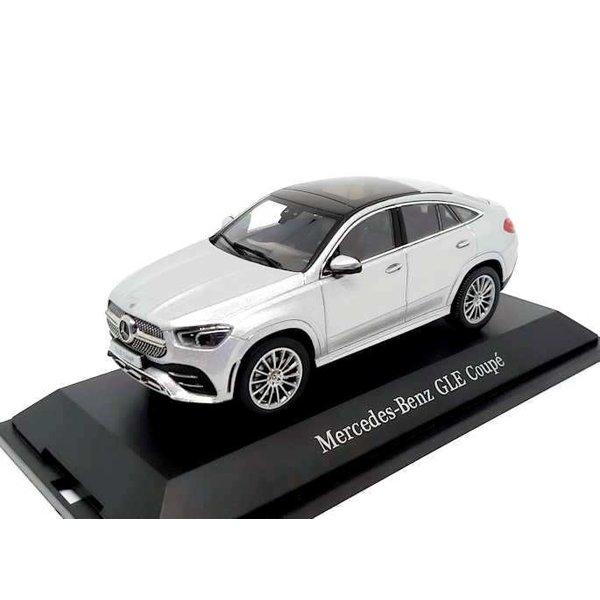 Modelauto Mercedes Benz GLE Coupe (C167) 2020 zilver 1:43