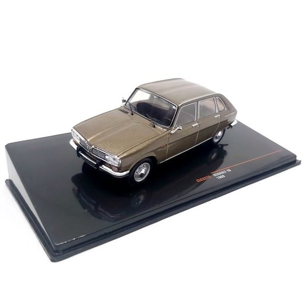 Modelauto Renault 16 1969 bruin metallic 1:43   Ixo Models