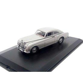 Oxford Diecast Bentley S1 Continental Fastback 1956 grijs - Modelauto 1:43
