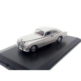 Oxford Diecast Bentley S1 Continental Fastback 1956 Shell grey - Model car 1:43