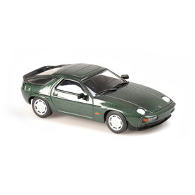 Maxichamps Porsche 928 S 1979 groen metallic - Modelauto 1:43