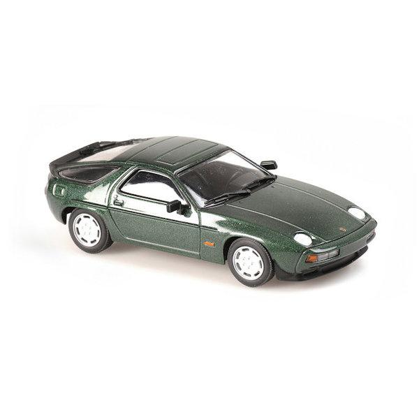 Modellauto Porsche 928 S 1979 grün metallic 1:43