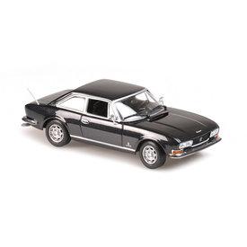 Maxichamps Model car Peugeot 504 Coupe 1976 grey metallic 1:43