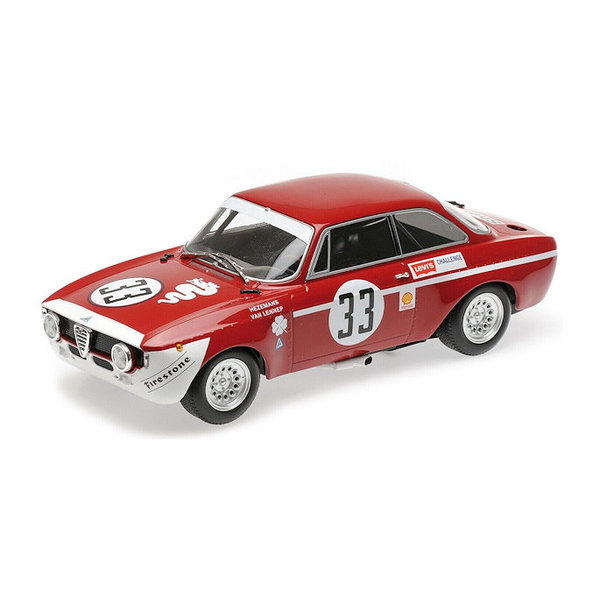 Model car Alfa Romeo GTA 1300 Junior No. 33 1972 1:18