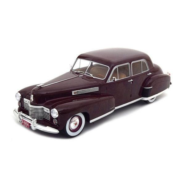Modelauto Cadillac Fleetwood Series 60 Special Sedan donkerrood 1:18