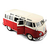Model car Volkswagen T1 Samba Bus red/white 1:25 | Maisto