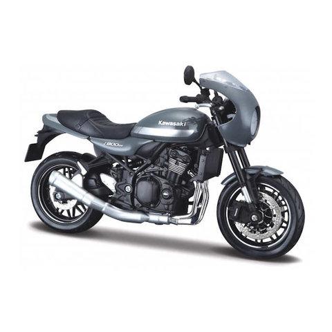 Kawasaki Z900RS Cafe grau - Modell-Motorrad 1:12