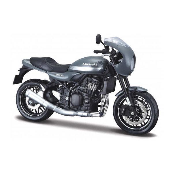 Modell-Motorrad Kawasaki Z900RS Cafe grau 1:12