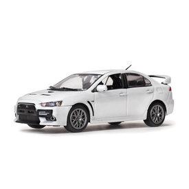 Vitesse Model car Mitsubishi Lancer Evolution X pearl white 1:43