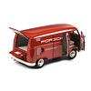Modelauto Volkswagen T1b 'Porsche Renndienst' rood 1:18