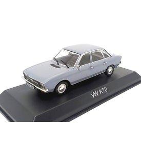 Norev Model car Volkswagen K70 1970 light blue metallic 1:43