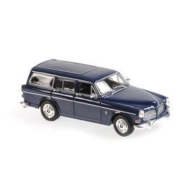 Maxichamps | Modelauto Volvo 121 Amazon Break 1966 donkerblauw 1:43