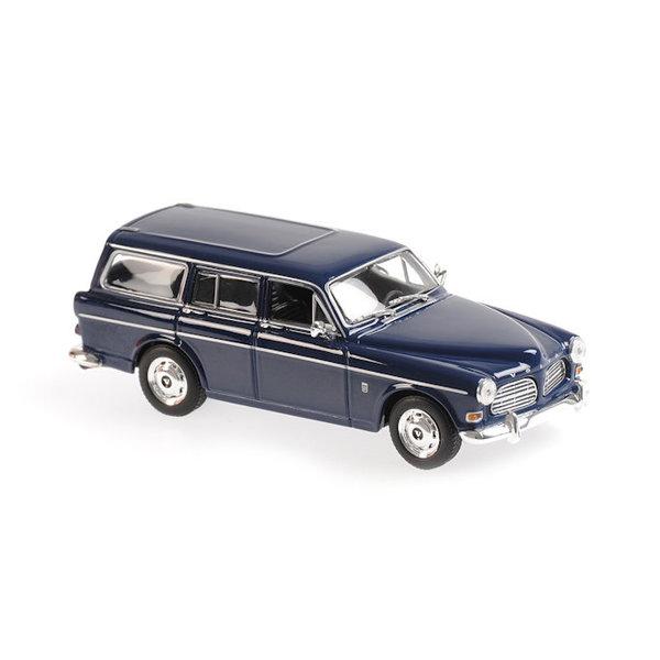 Model car Volvo 121 Amazon Break 1966 dark blue 1:43 | Maxichamps