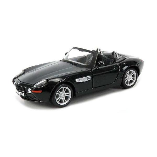 Modelauto BMW Z8 2000 zwart 1:24   Maisto