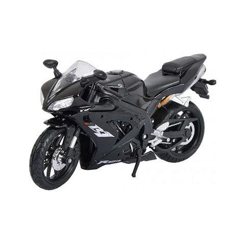 Yamaha YZF-R1 black - Model motorcycle 1:12