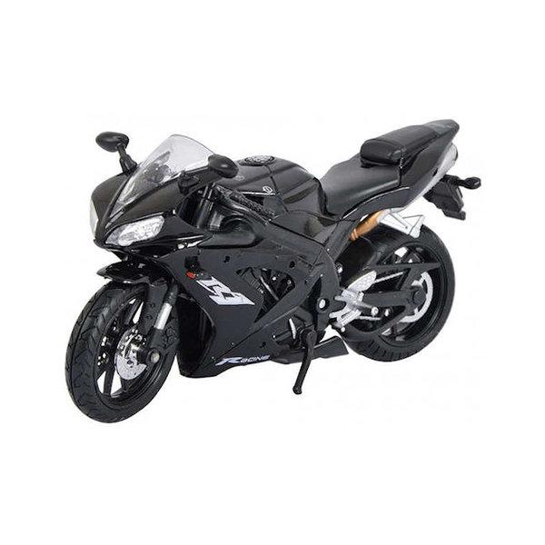 Modelmotor Yamaha YZF-R1 zwart 1:12