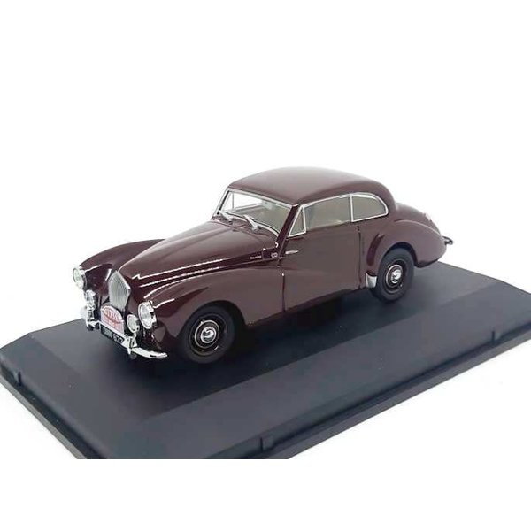 Healey Tickford 1:43 No. 173 donkerbruin 1953   Oxford Diecast