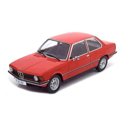 BMW 318i (E21) 1975 red - Model car 1:18