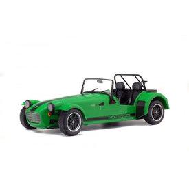 Solido Model car Caterham Seven 275R green 1:18