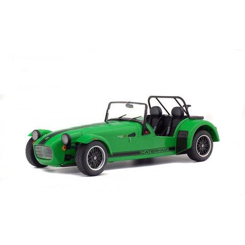 Caterham Seven 275R groen - Modelauto 1:18