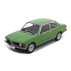 KK-Scale BMW 318i (E21) 1975 groen - Modelauto 1:18