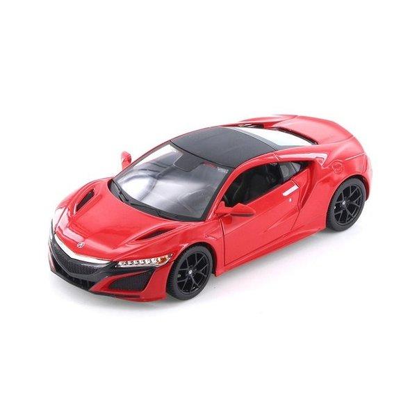 Modelauto Acura NSX 2017 rood 1:24   Maisto