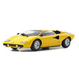 Kyosho Lamborghini Countach LP400 geel - Modelauto 1:18
