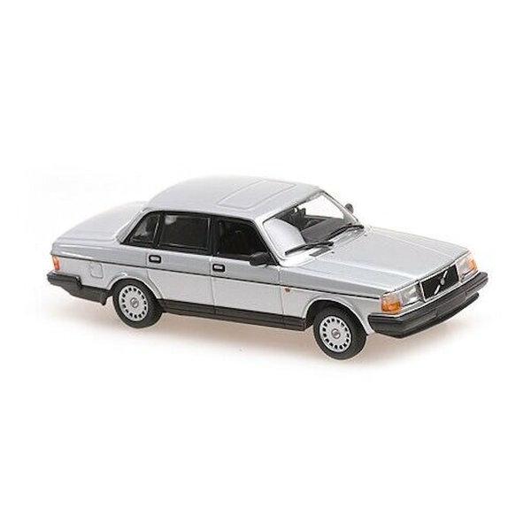 Modelauto Volvo 240 GL 1986 zilver metallic 1:43