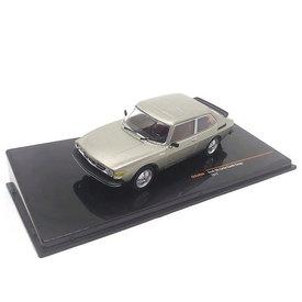 Ixo Models Saab 99 Turbo Combi Coupe 1977 grijs metallic - Modelauto 1:43