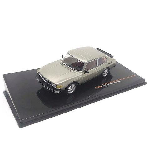 Saab 99 Turbo Combi Coupe 1977 grijs metallic - Modelauto 1:43