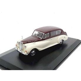 Oxford Diecast Austin Princess donkerrood/cremewit - Modelauto 1:43