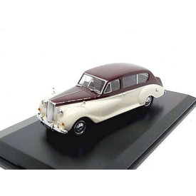 Oxford Diecast Austin Princess maroon / old english white - Model car 1:43