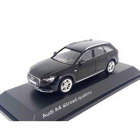 Spark | Modelauto Audi A4 Allroad Quattro 2017 Mythos zwart 1:43