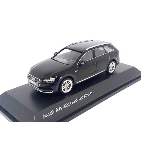Audi A4 Allroad Quattro 2017 Myth black - Model car 1:43