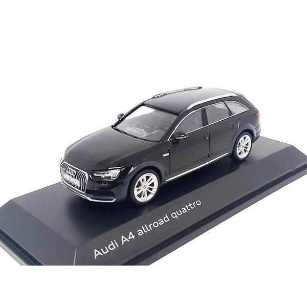 Model car Audi A4 Allroad Quattro 2017 Myth black 1:43