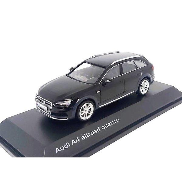 Modelauto Audi A4 Allroad Quattro 2017 Mythos zwart 1:43