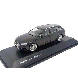 Spark Audi A4 Avant 2015 Daytona grijs - Modelauto 1:43