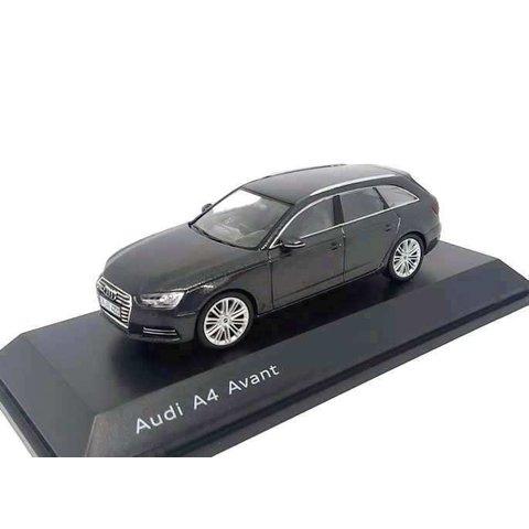 Modelauto Audi A4 Avant 2015 Daytona grijs 1:43