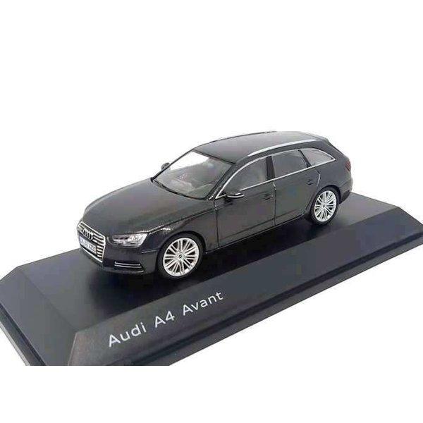 Model car Audi A4 Avant 2015 Daytona grey 1:43