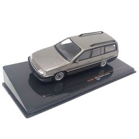 Ixo Models Opel Omega A2 Caravan 1990 grijs metallic - Modelauto 1:43