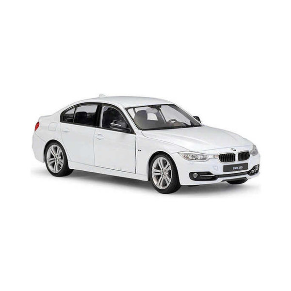 Model car BMW 335i (F30) white 1:24