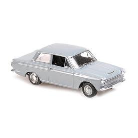 Maxichamps Ford Cortina Mk I 1962 grijs - Modelauto 1:43