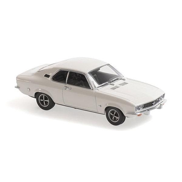 Modellauto Opel Manta A 1970 weiß 1:43