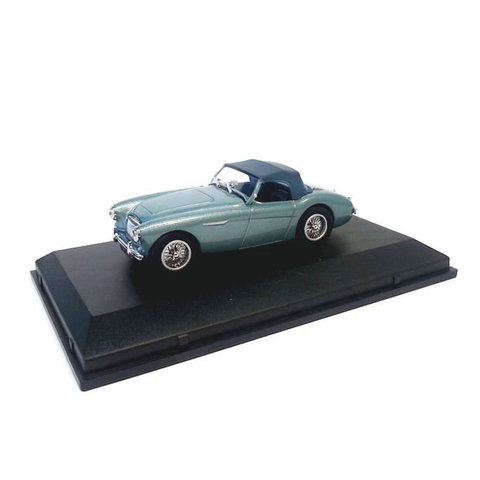 Austin Healey 3000 blauw metallic 1:43 - Modelauto 1:43