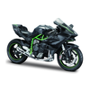 Model motorcycle Kawasaki Ninja H2 R black/green 1:12   Maisto