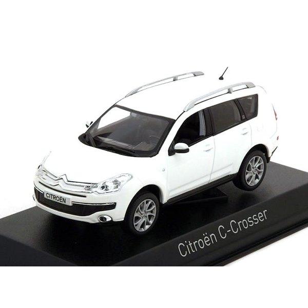 Model car Citroën C-Crosser 2007 white 1:43 | Norev