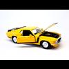 Modelauto Ford Mustang Boss 302 1970 geel 1:24   Maisto